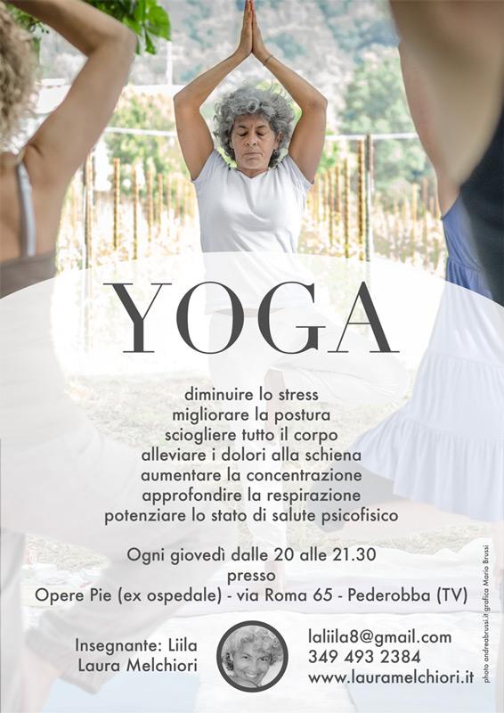 laura melchiori - Yoga Pederobba