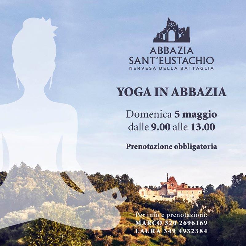 Laura Melchiori - Yoga in Abbazia