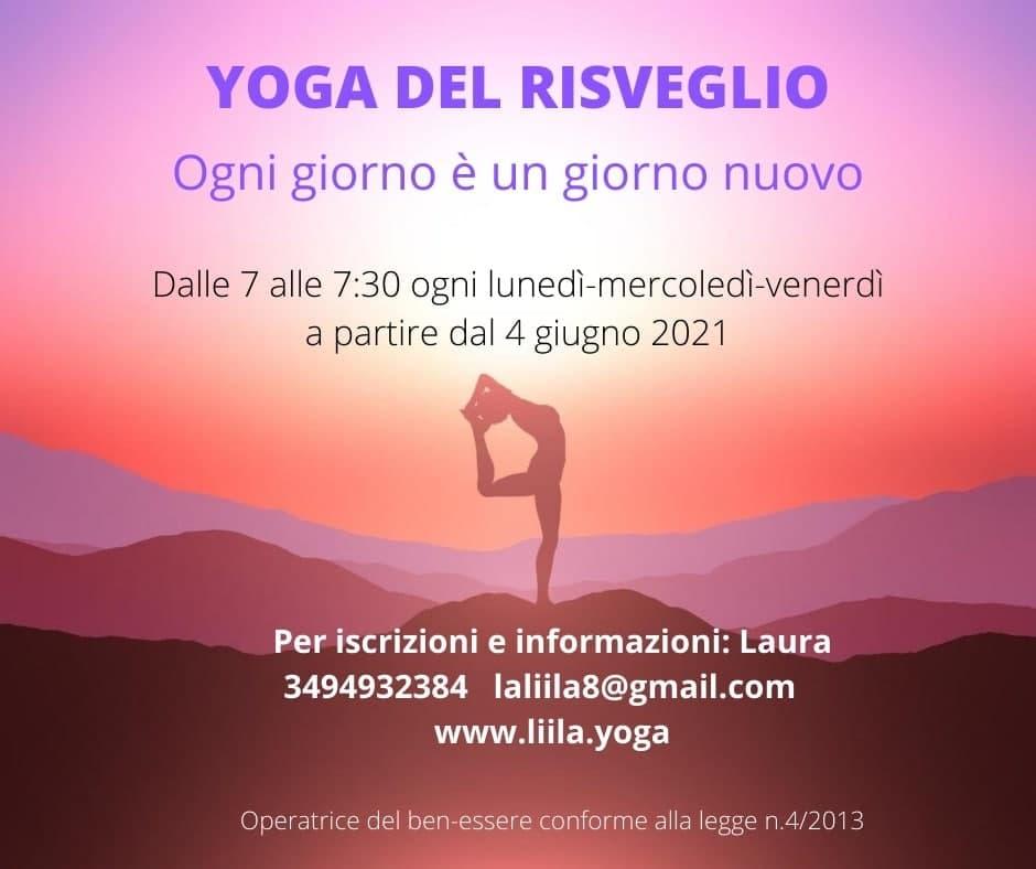 Laura Melchiori Yoga del risveglio